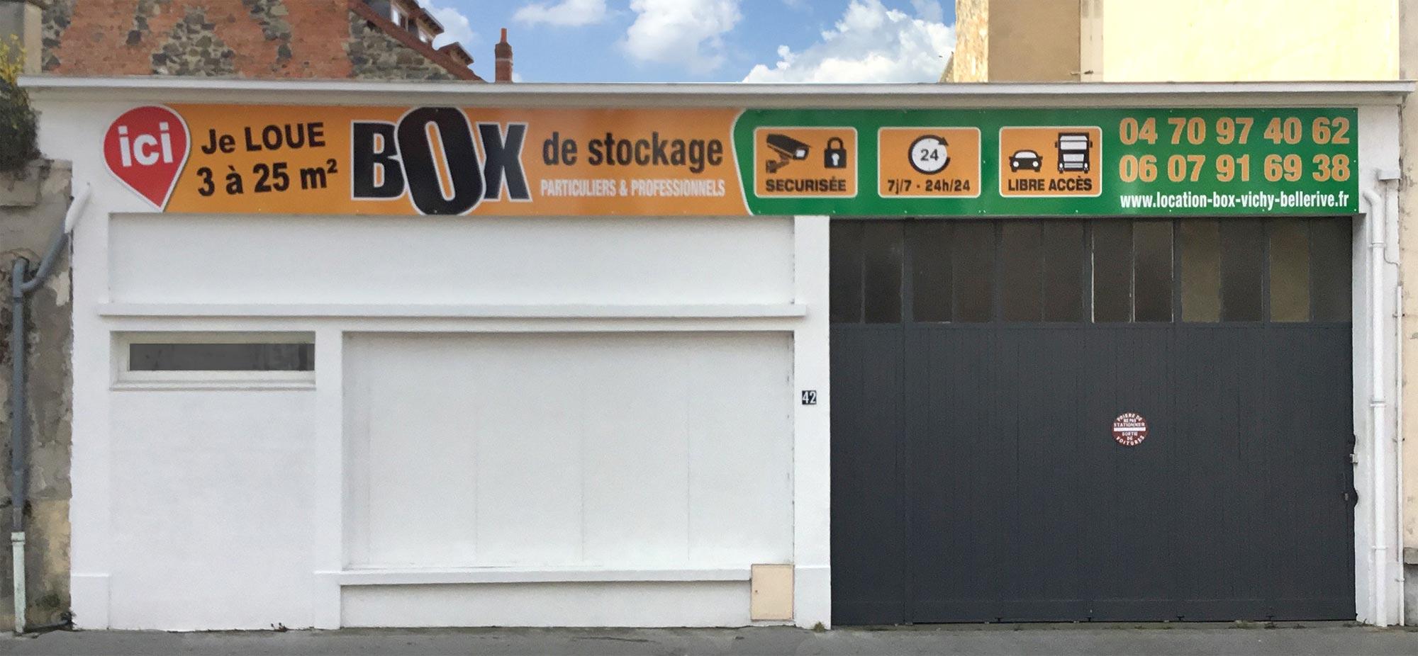 Location-Box-Garde meuble VICHY